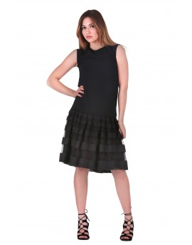 DRESS BLACK-LINE 107