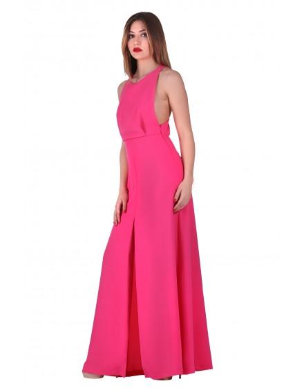 DRESS PINK-RED 100