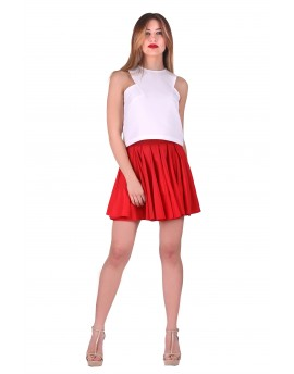 SKIRT PINK-RED 104